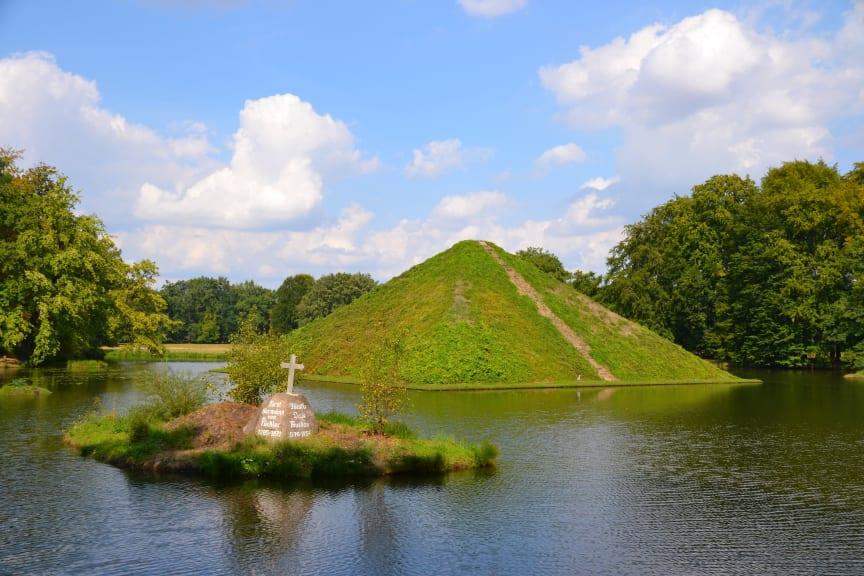 Pyramide im Branitzer Park