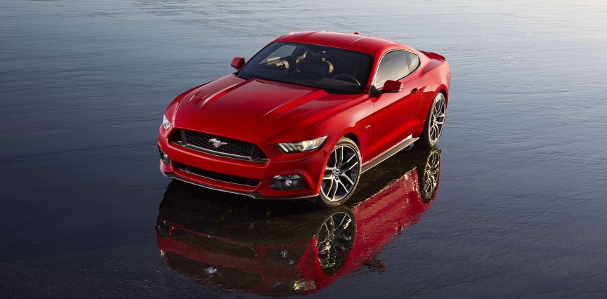 Nye Ford Mustang vist for første gang i på et stort Go Further-arrangement i Barcelona