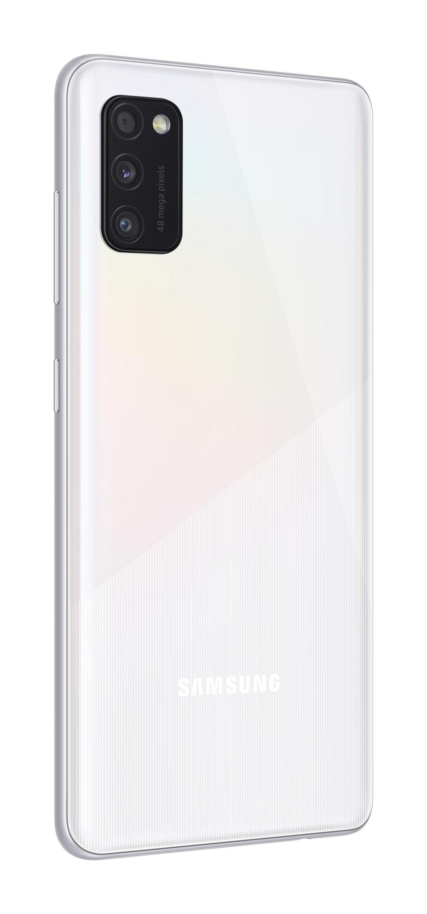 07_Samsung Galaxy A41_prism_crush_white_l30