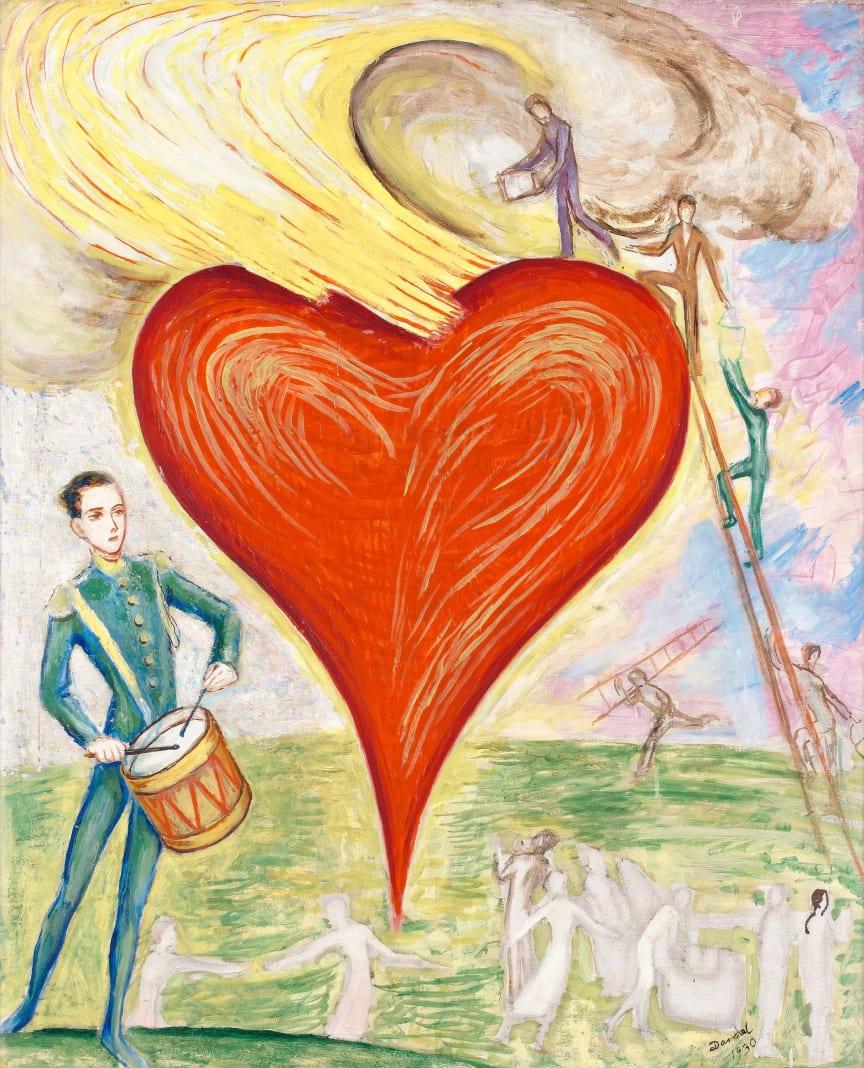 Nils von Dardel, Ett hjärta i brand2