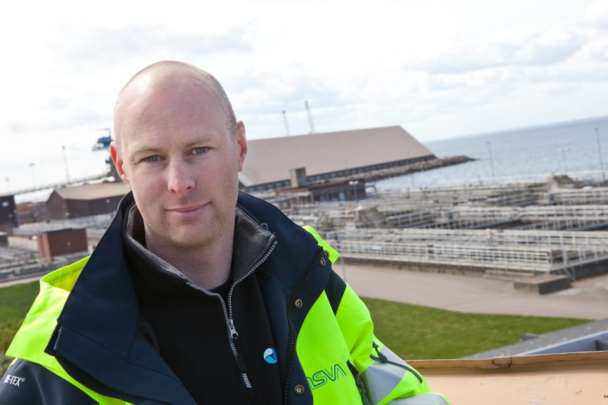 Andreas Fäldt, drifttekniker, Öresundsverket, NSVA