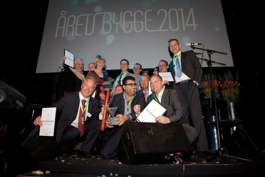 Aula Medica blev Årets Bygge 2014