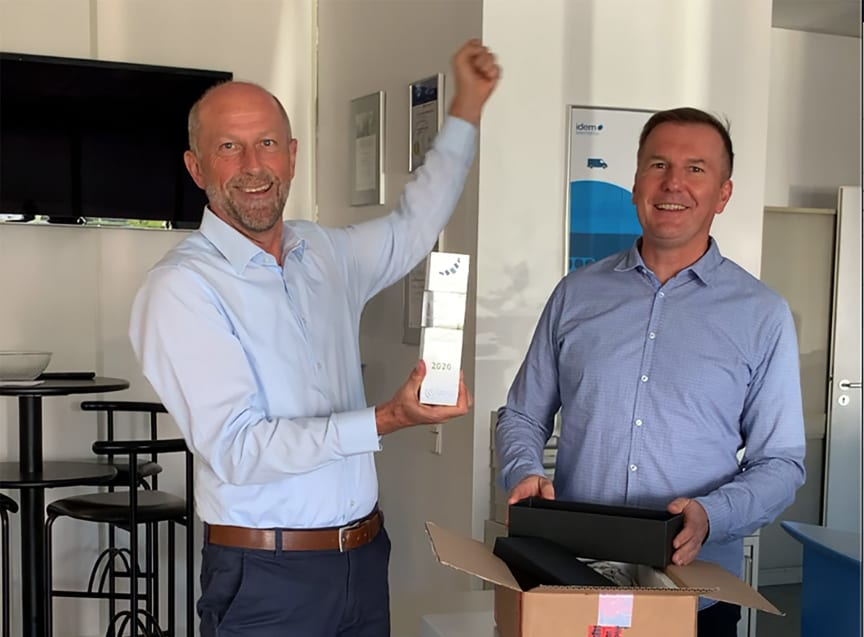 idem telematics received the 2020 Telematik Award