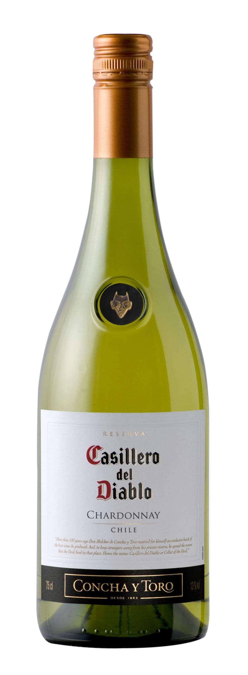 Casillero del Diablo Chardonnay, Chile (nr 207501) 750 ml