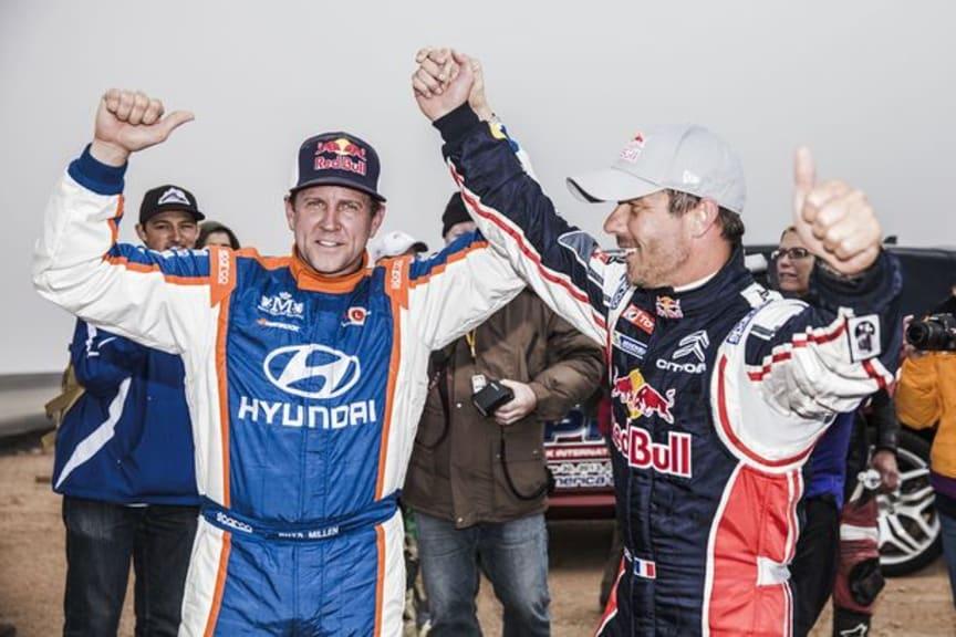 Seger för Peugeot och Loeb i Pikes Peak 2013