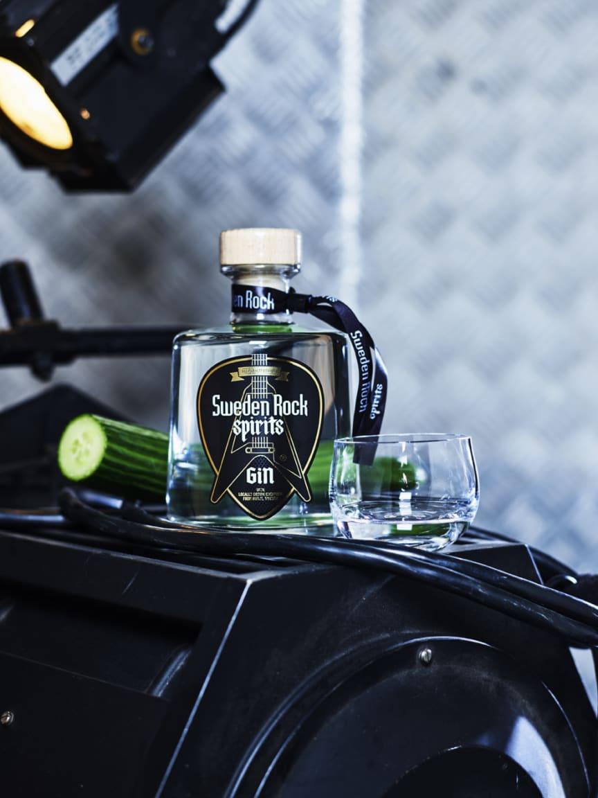 Sweden Rock Spirits gin.