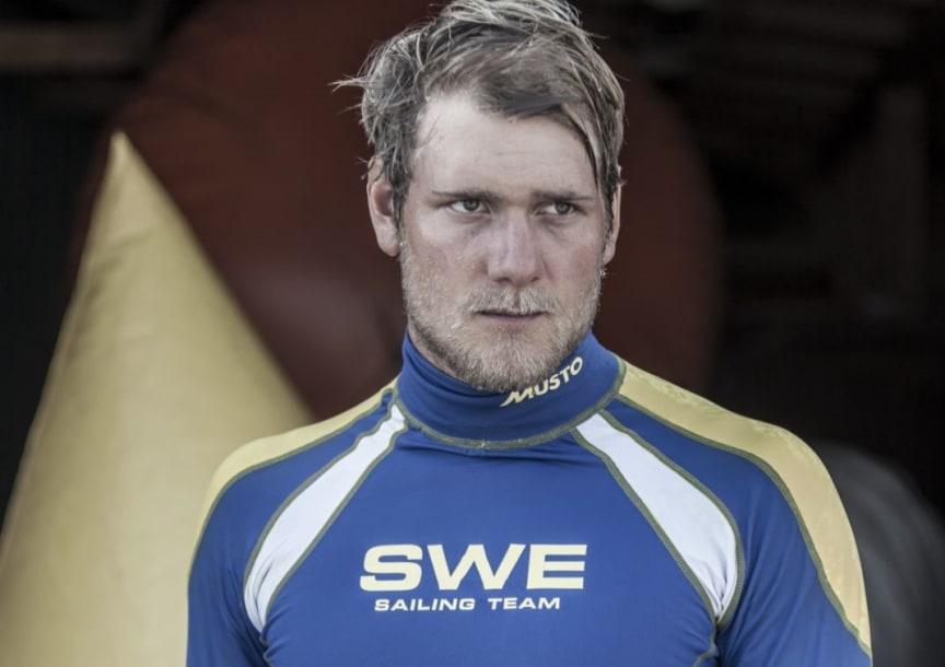 Max Salminen, OS-guldmedaljör i Starbåt 2012.