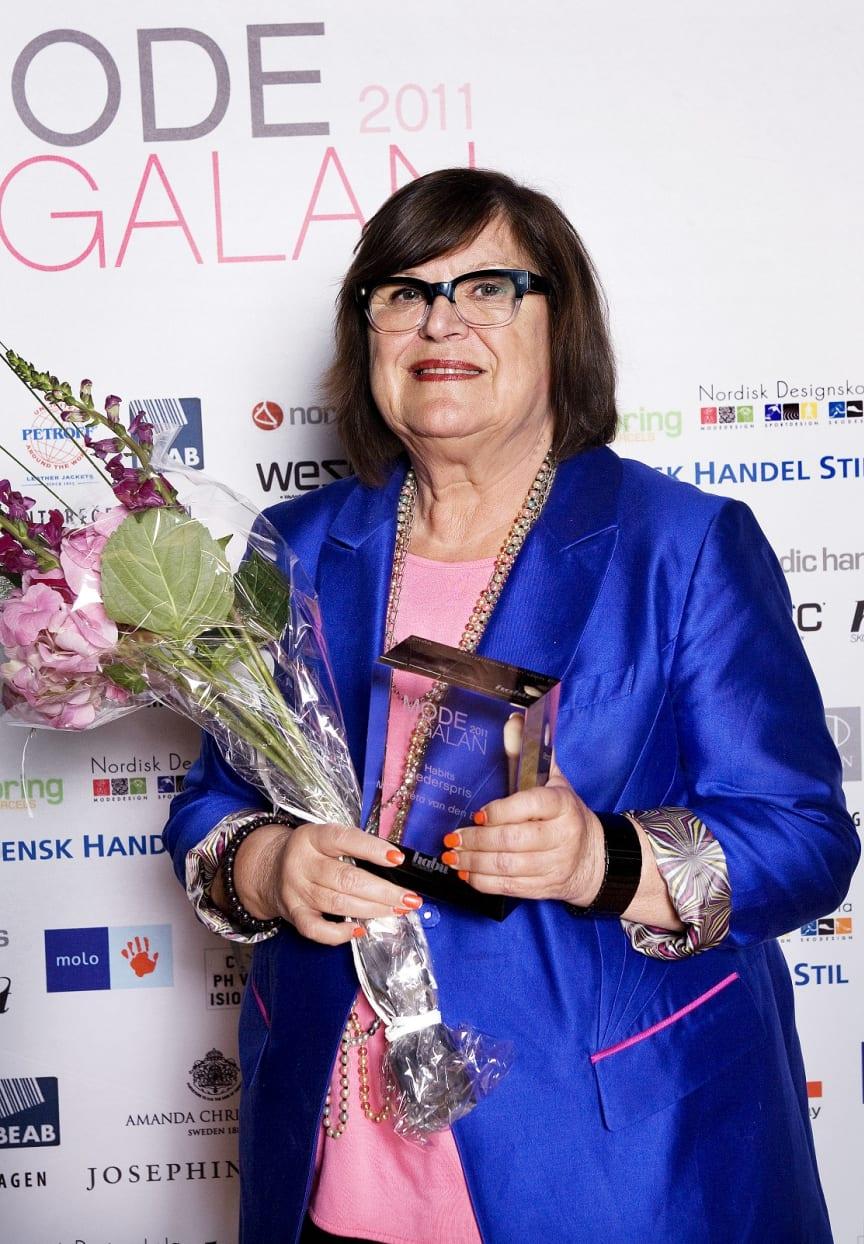 Vinnare Habits Hederspris, Modegalan 2011