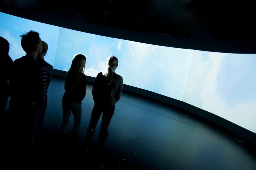 Filmvisning på Kretseum