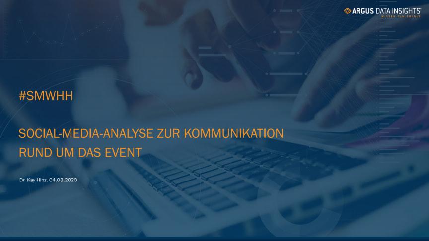 Event-Analyse zur #SMWHH auf Twitter