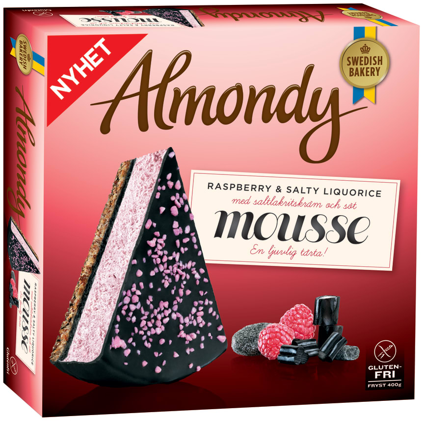 Almondy Raspberry & Salty Licuorice