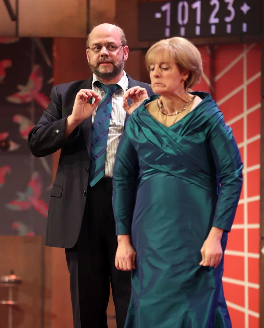Nockherberg 2017 Merkel und Schulz im Singspiel