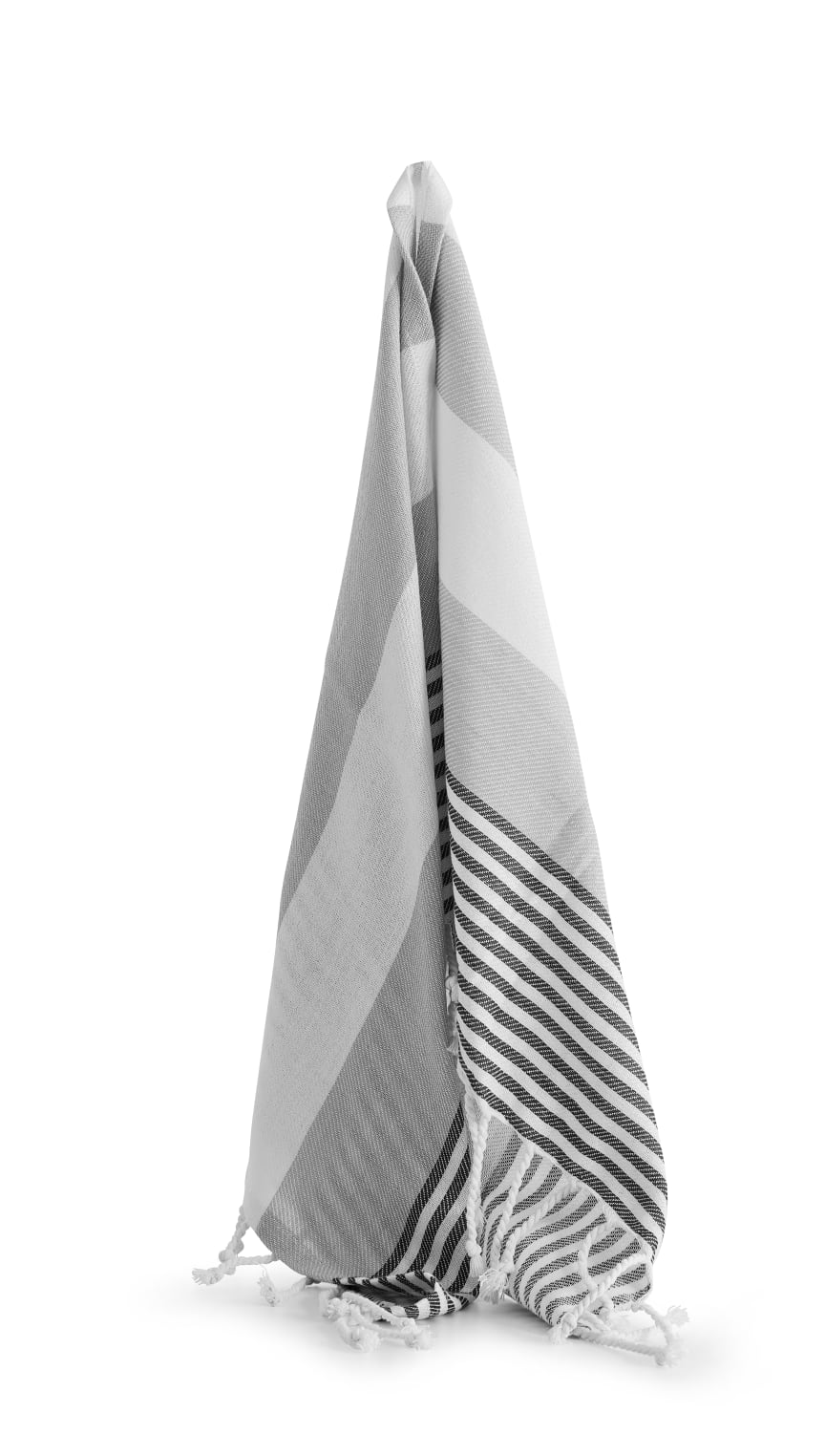 Hamam handduk liten ECO 50 x 70 cm,grå