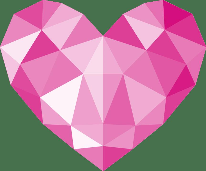 Symbolen för Årets Hälsopris är en rosa kristall, formad som en stjärna, som symboliserar kärlek, respekt och talang.