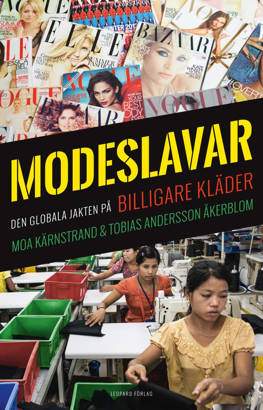 Omslag Modeslavar