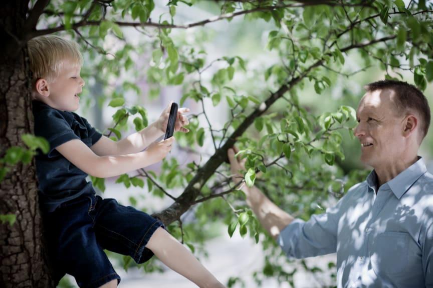 Familie og mobilbruk