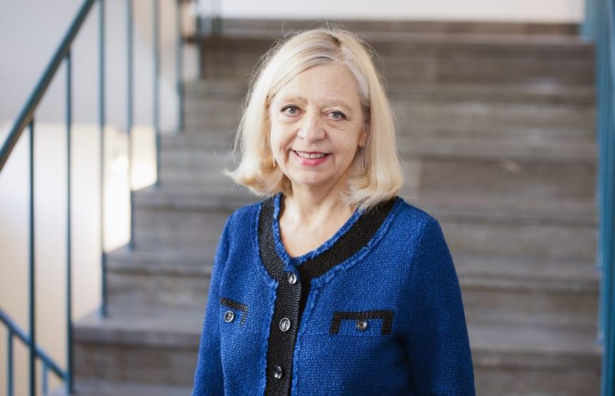 Karin Helander, ständig sekreterare, Kungl. Vitterhetsakademien