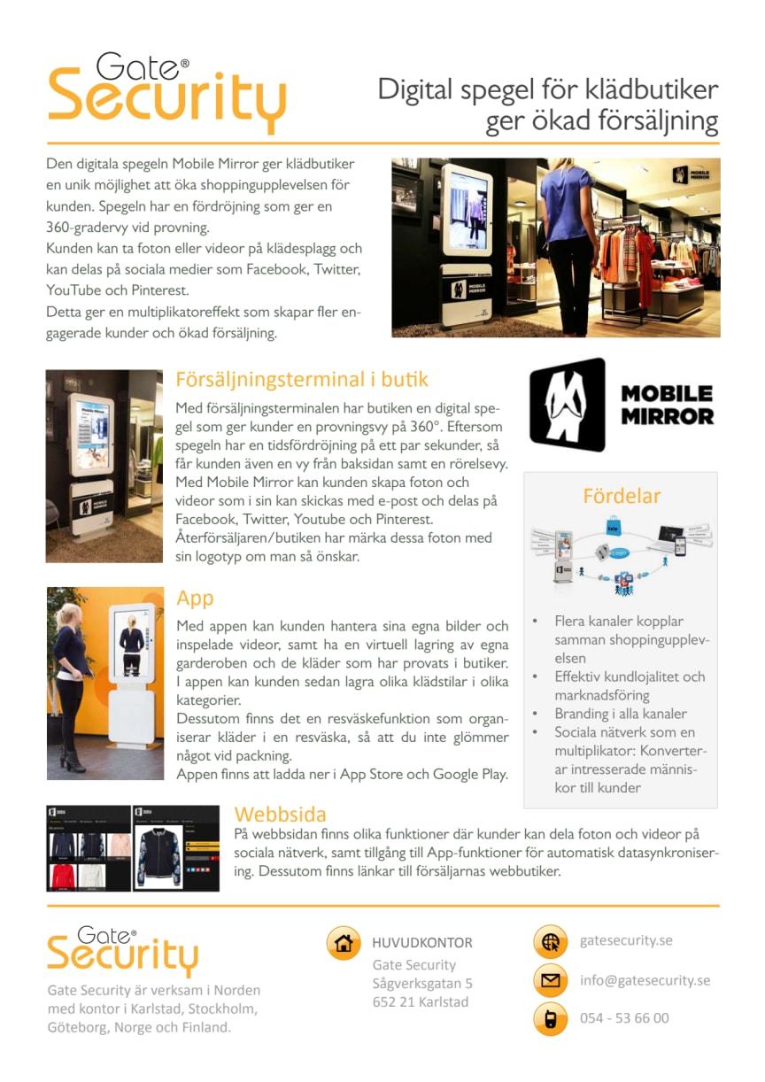 PDF: Digital spegel för klädbutiker ger ökad försäljning