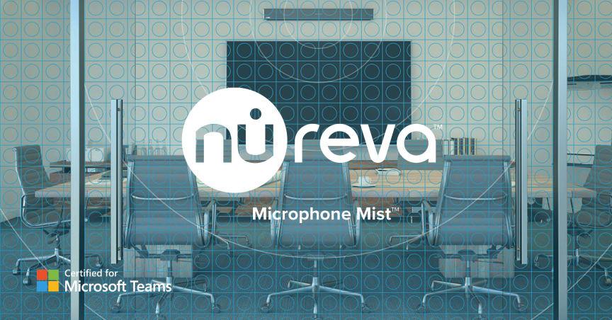 Nureva Microphone Mist Microsoft Teams-certifierad
