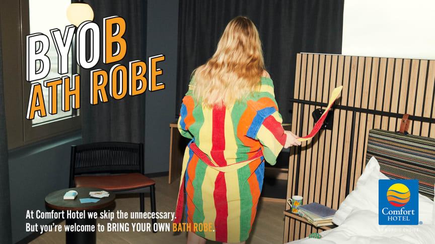 Comfort Hotel - Bring Your Own Bathrobe