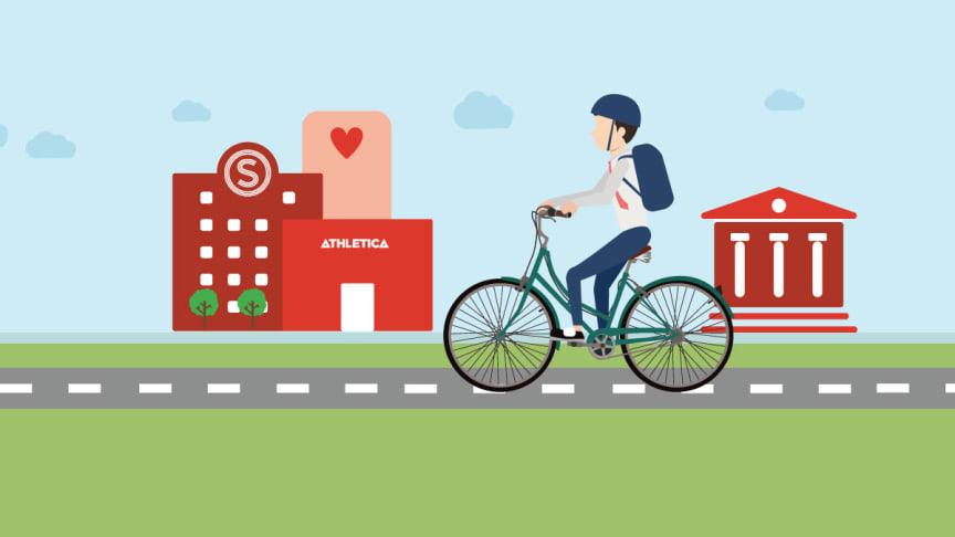 SiO Vårpuss av sykkel