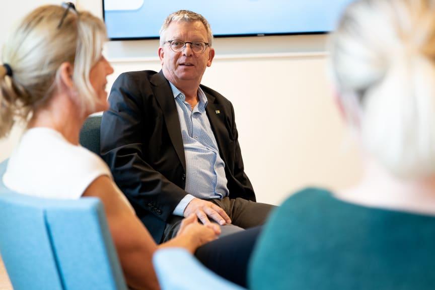 Thomas Persson, generaldirektör på Myndigheten för yrkeshögskolan