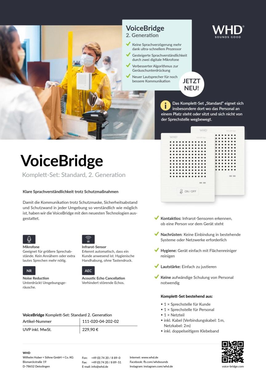 VoiceBridge Standard 2. Generation