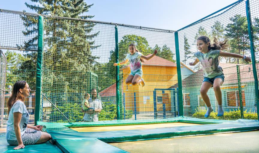 Trampolin Familienpark Senftenberger See
