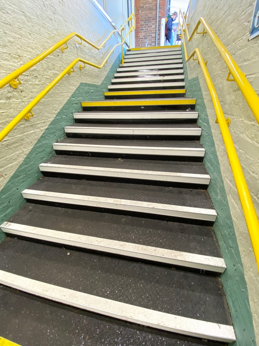 Emsworth stairs after