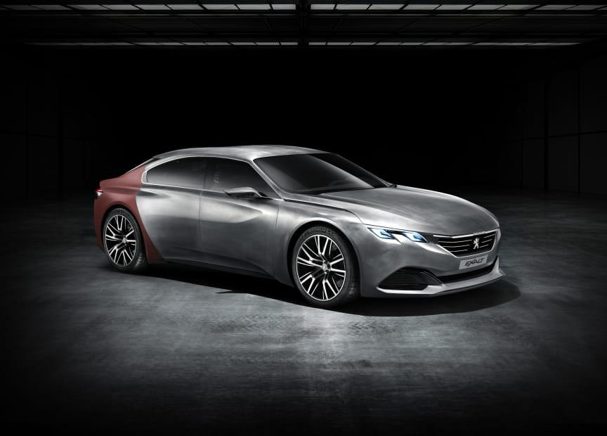 Peugeot Exalt konceptbil fram_sida