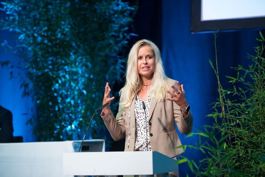 BdS-Präsidentin Sandra Mühlhause bei der BdS-Mitgliederversammlung 2021