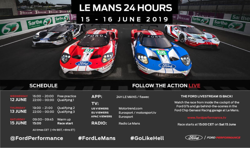 Ford Le Mans 2019