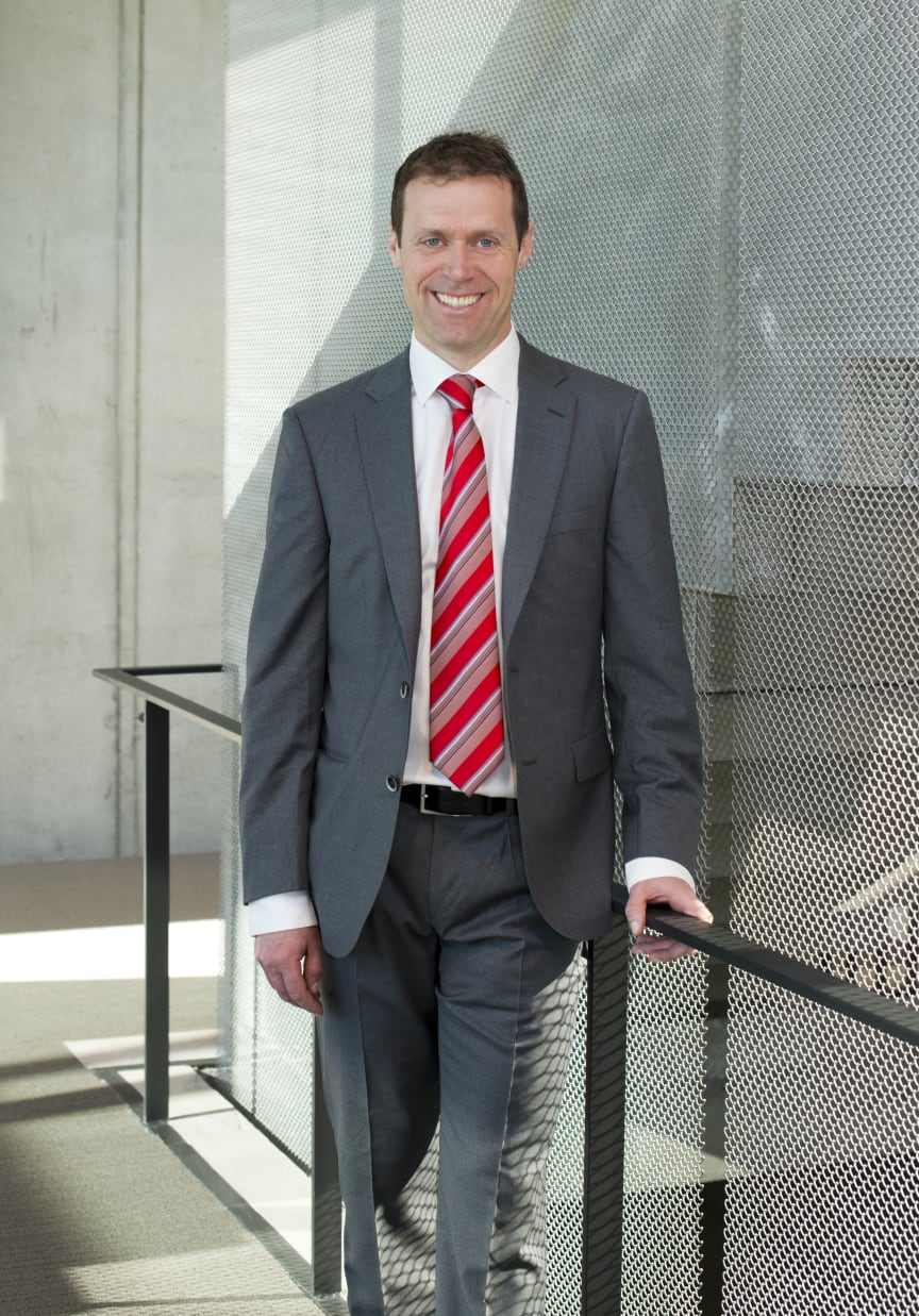 Fredrik Lund, VP Buildings Business i Schneider Electric