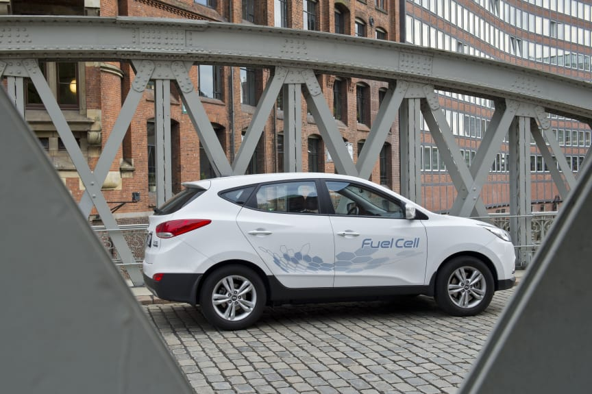 ix 35 Fuel Cell i Hamburg
