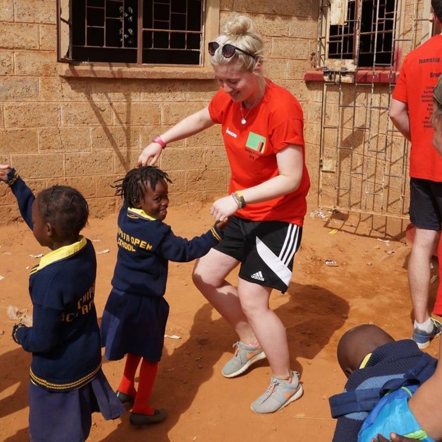 Northumbria celebrates 15 years of Volunteer Zambia