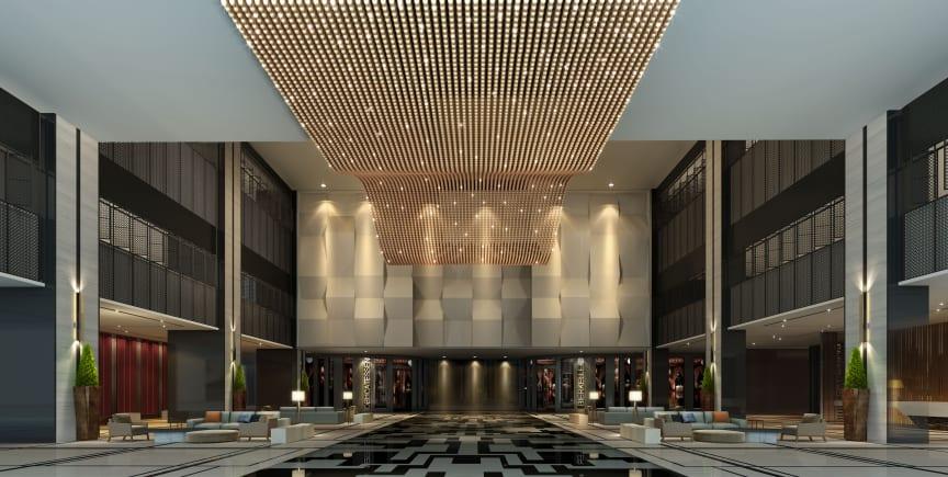 Lobby Maritim Hotel Hefei (Visualization)