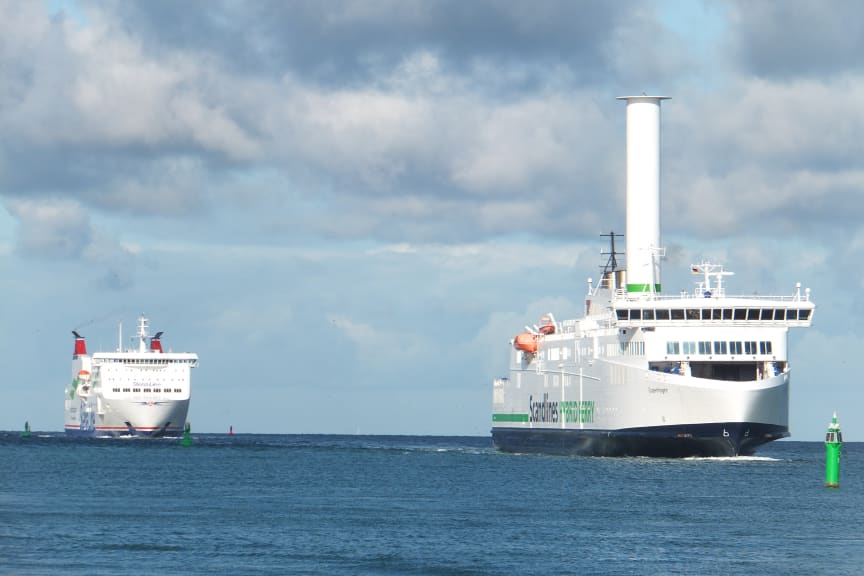 Copenhagen rotor sail Warnemünde_Stena Line