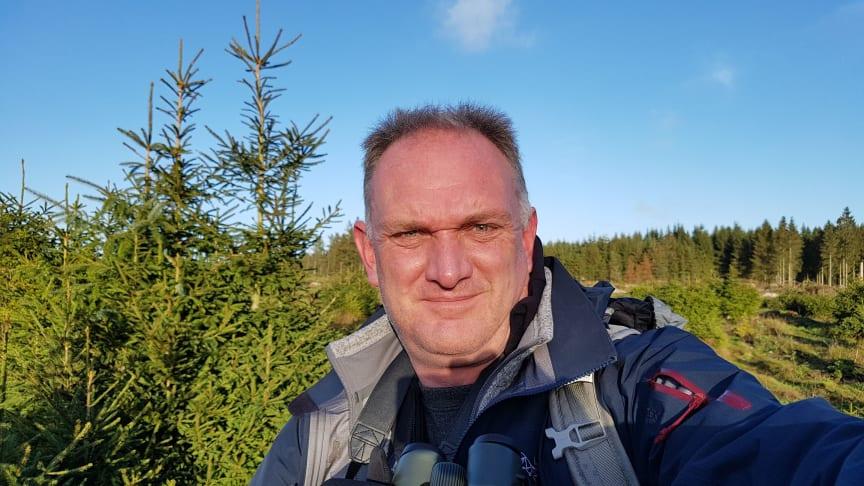 Morten D.D. Hansen selfie