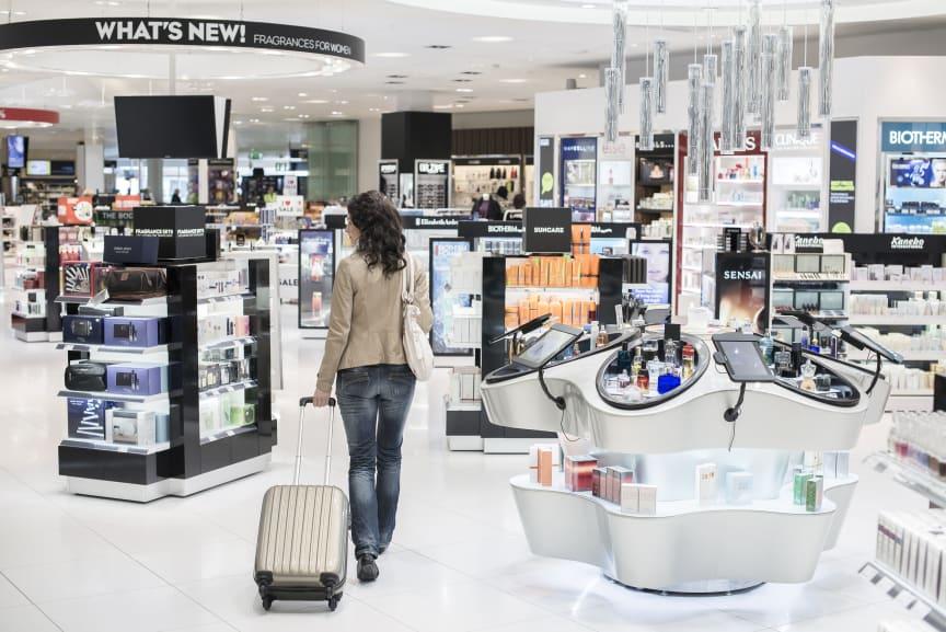 Taxfree-shoppin Göteborg Landvetter Airport
