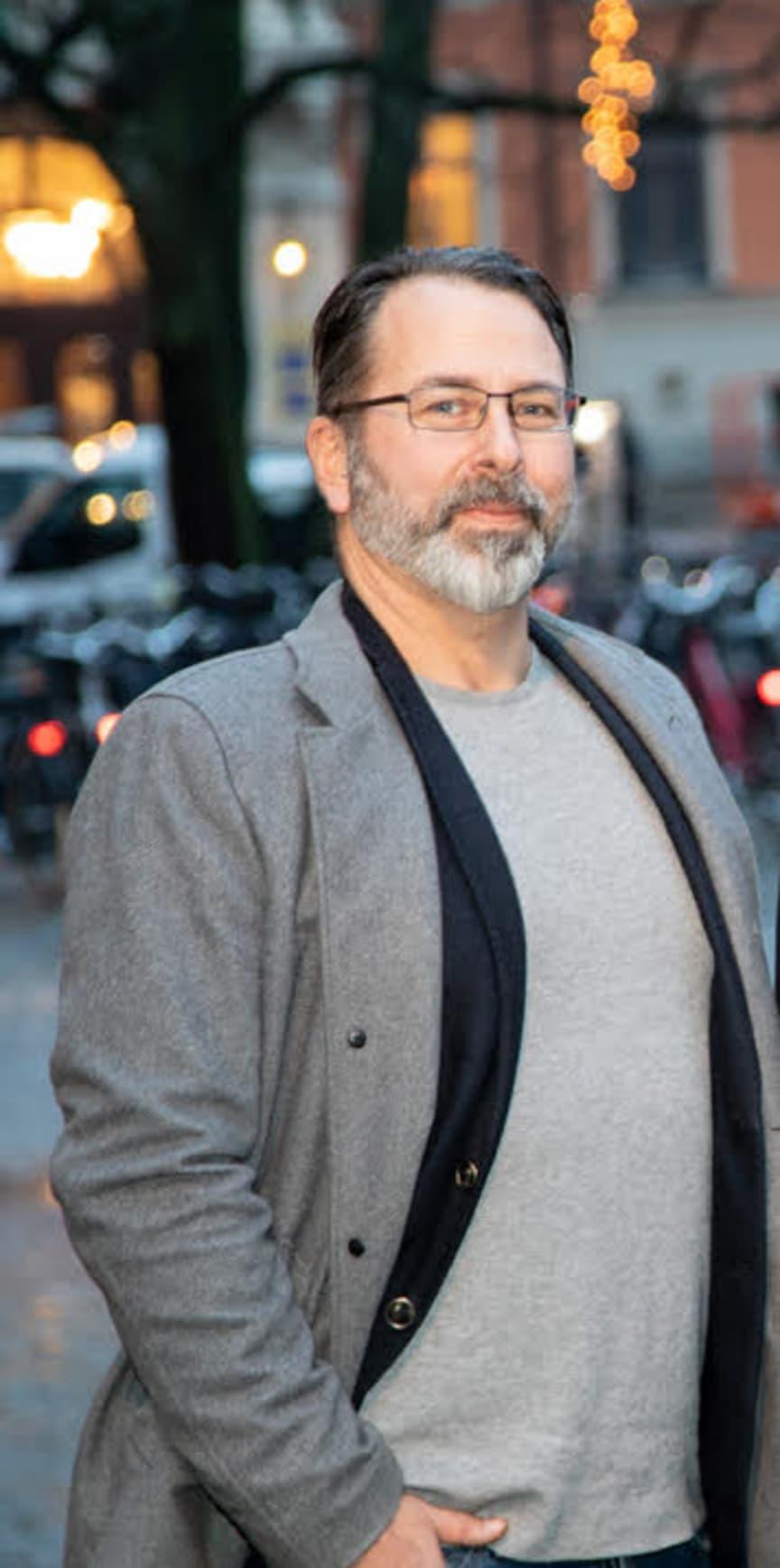 Jimmy Eriksson, VD/CEO Sisyfos Digital AB
