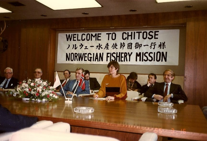 Delegasjon Listau 1985