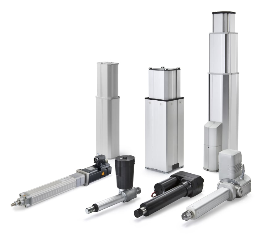 Actuators and pillars