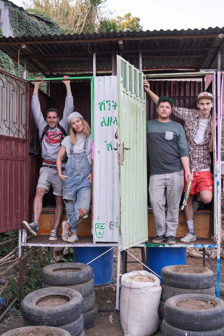 Die ersten Eco-Toiletten by Goldeimer in Addis Abeba