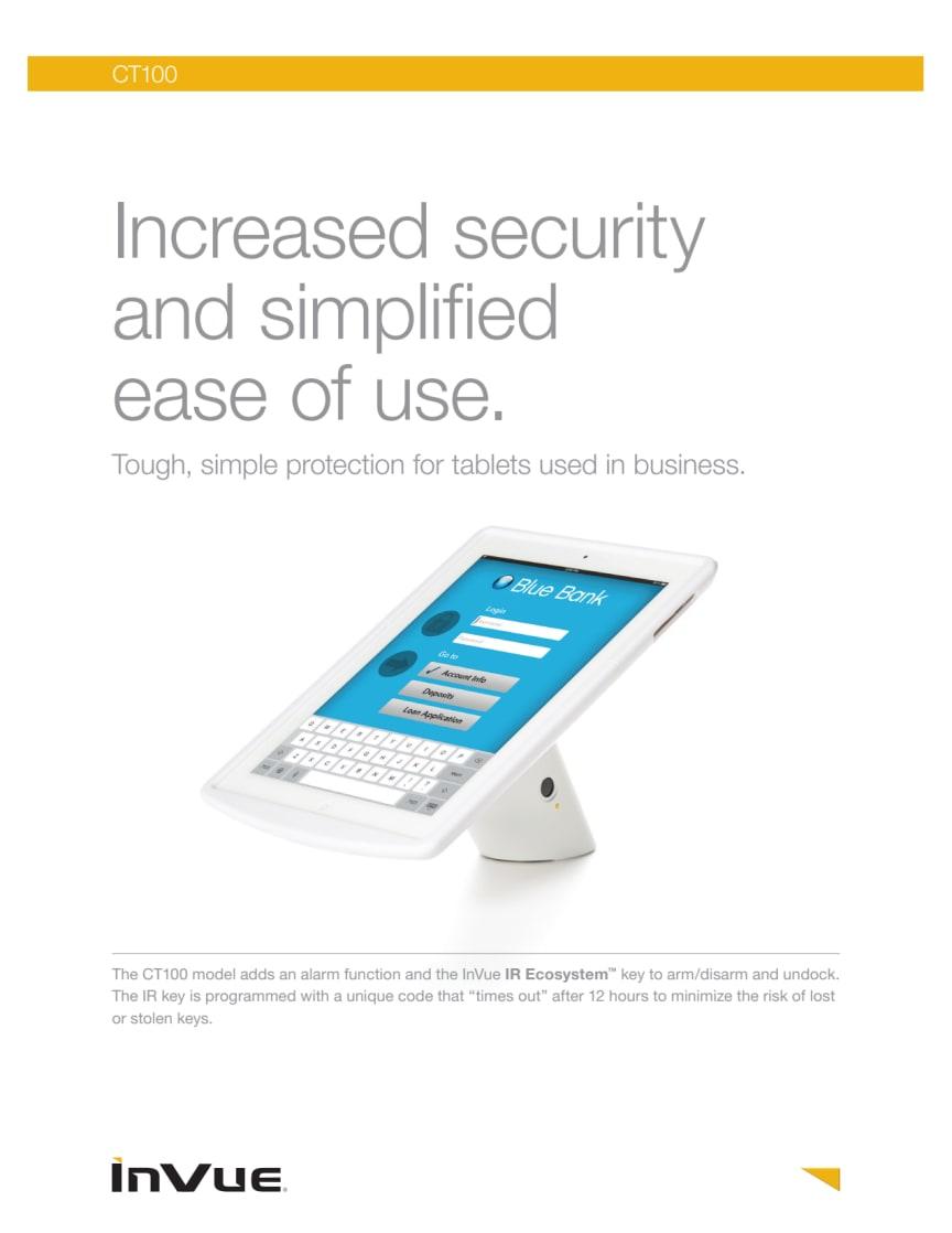 Varularm från Gate Security - InVue CT100