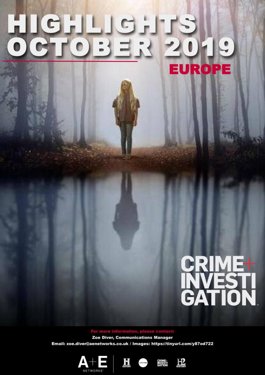 Crime+Investigation Highlights October 2019