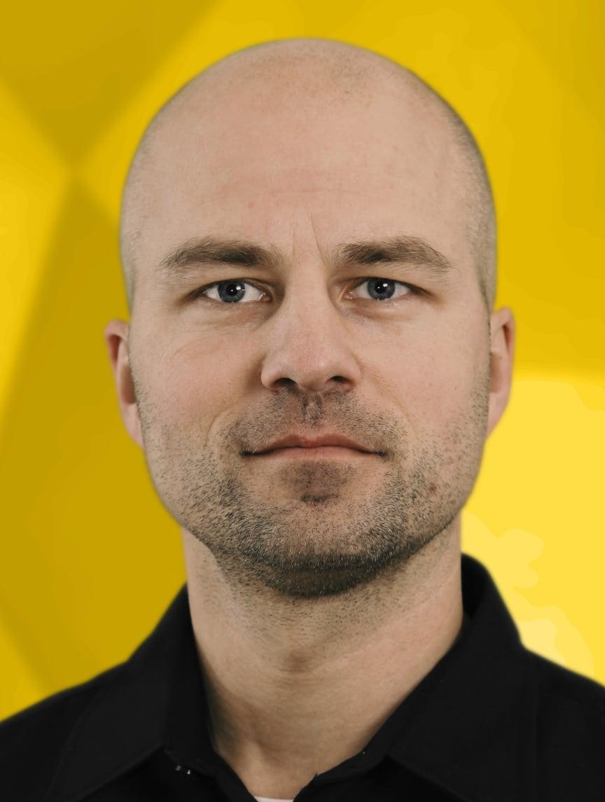 André Nordström, leder af ambassadørprogrammet hos Engcon