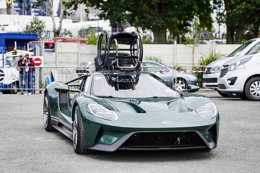 Jason Watt & Ford GT wheelchair3