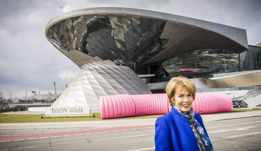 Christa Maar wirbt für den Felix Burda Award