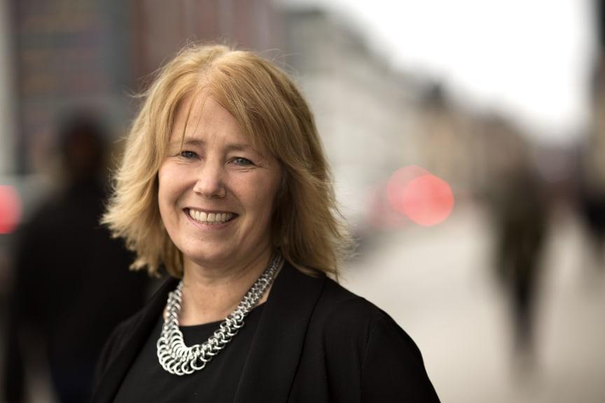 Johanna Frelin, vd, Riksbyggen