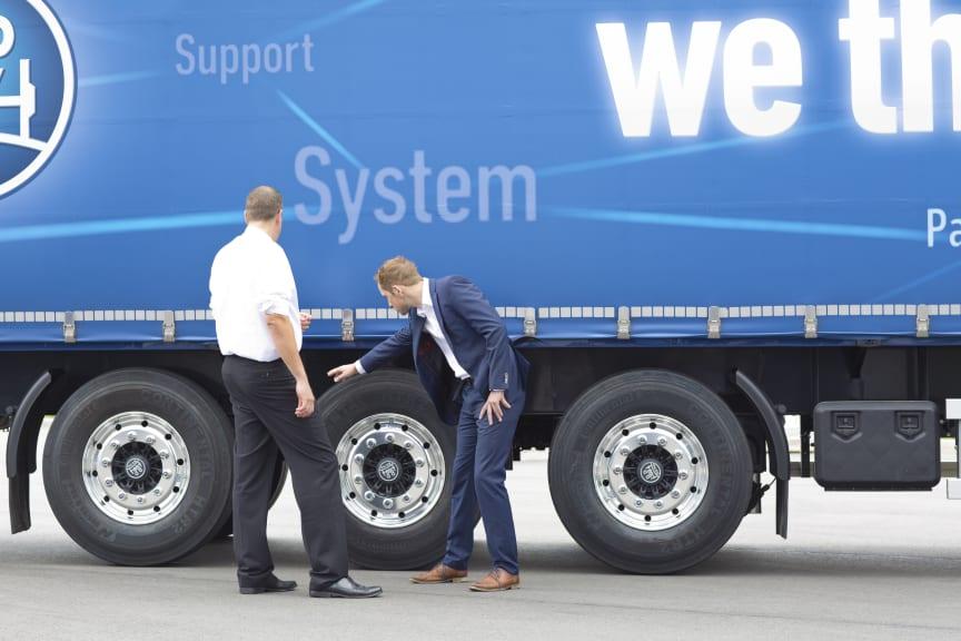 Der Bund verlängert die Förderung intelligenter Trailer-Technologien.